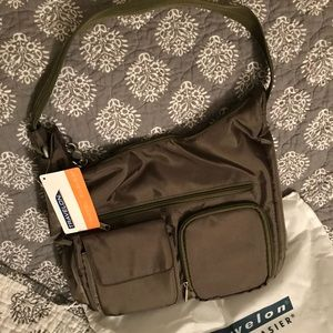 Travelon Nylon Anti Theft Shoulder Bag